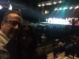 Brendan attended The Temptations and the Four Tops on Jan 5th 2019 via VetTix