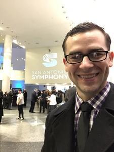 Thomas attended Brahms Symphony No. 4 - Presented by the San Antonio Symphony on Jan 11th 2019 via VetTix