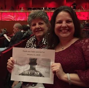 Renita attended Brahms Symphony No. 4 - Presented by the San Antonio Symphony on Jan 11th 2019 via VetTix