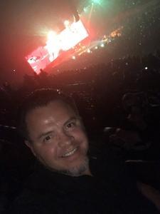 Ruben attended Disturbed- Evolution World Tour on Jan 9th 2019 via VetTix