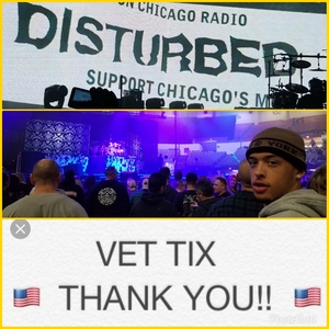 Tanya attended Disturbed- Evolution World Tour - General Admission Seating on Jan 9th 2019 via VetTix