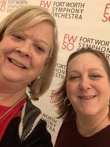 Carol- wife of Ronald attended Also Sprach Zarathustra - Presented by the Fort Worth Symphony Orchestra on Jan 11th 2019 via VetTix