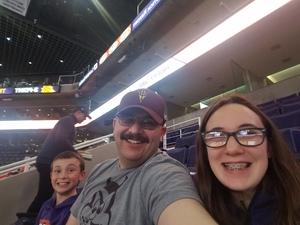 Mark attended Phoenix Suns vs. Sacramento Kings - NBA on Jan 8th 2019 via VetTix