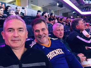 Allen attended Phoenix Suns vs. Sacramento Kings - NBA on Jan 8th 2019 via VetTix
