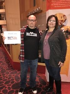 Christopher attended Grand Canyon Suite: An HD Experience on Jan 11th 2019 via VetTix