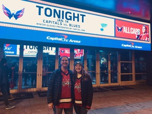 Phillip attended Washington Capitals vs. St. Louis Blues - NHL on Jan 14th 2019 via VetTix
