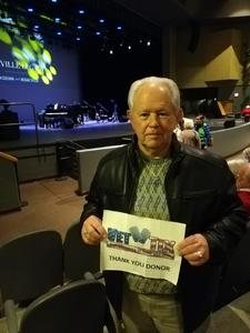 Carl attended Nashville Legacy Music of Floyd Cramer and Chet Atkins on Jan 11th 2019 via VetTix