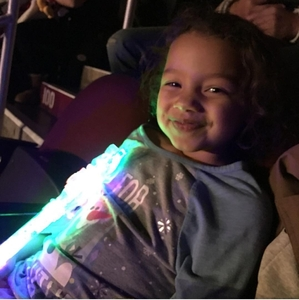 Rachel attended Disney on Ice Presents: Mickey's Search Party on Jan 11th 2019 via VetTix