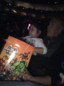 Fabricio attended Marvel Universe Live! on Jan 10th 2019 via VetTix