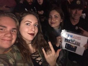 Dean T attended Disturbed - Evolution World Tour on Jan 12th 2019 via VetTix