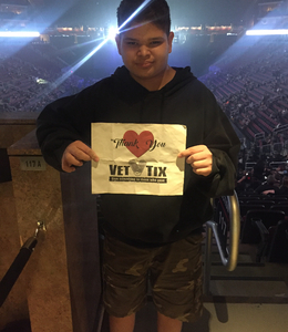 Ester attended Disturbed: Evolution World Tour on Jan 14th 2019 via VetTix