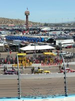 Walter attended Good Sam 500 - Nascar Sprint Cup Series - Phoenix International Raceway on Mar 13th 2016 via VetTix