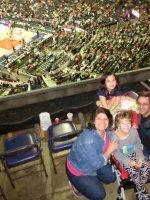 Cheryl attended Washington Dc Wizards vs. Minnesota Timberwolves - NBA on Mar 25th 2016 via VetTix