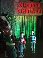 John attended Discover the Dinosaurs - Saturday on Apr 2nd 2016 via VetTix