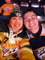 Christian Allan Ramirez & Stephanie McGee attended Nashville Predators vs. Los Angeles Kings - NHL on Mar 21st 2016 via VetTix
