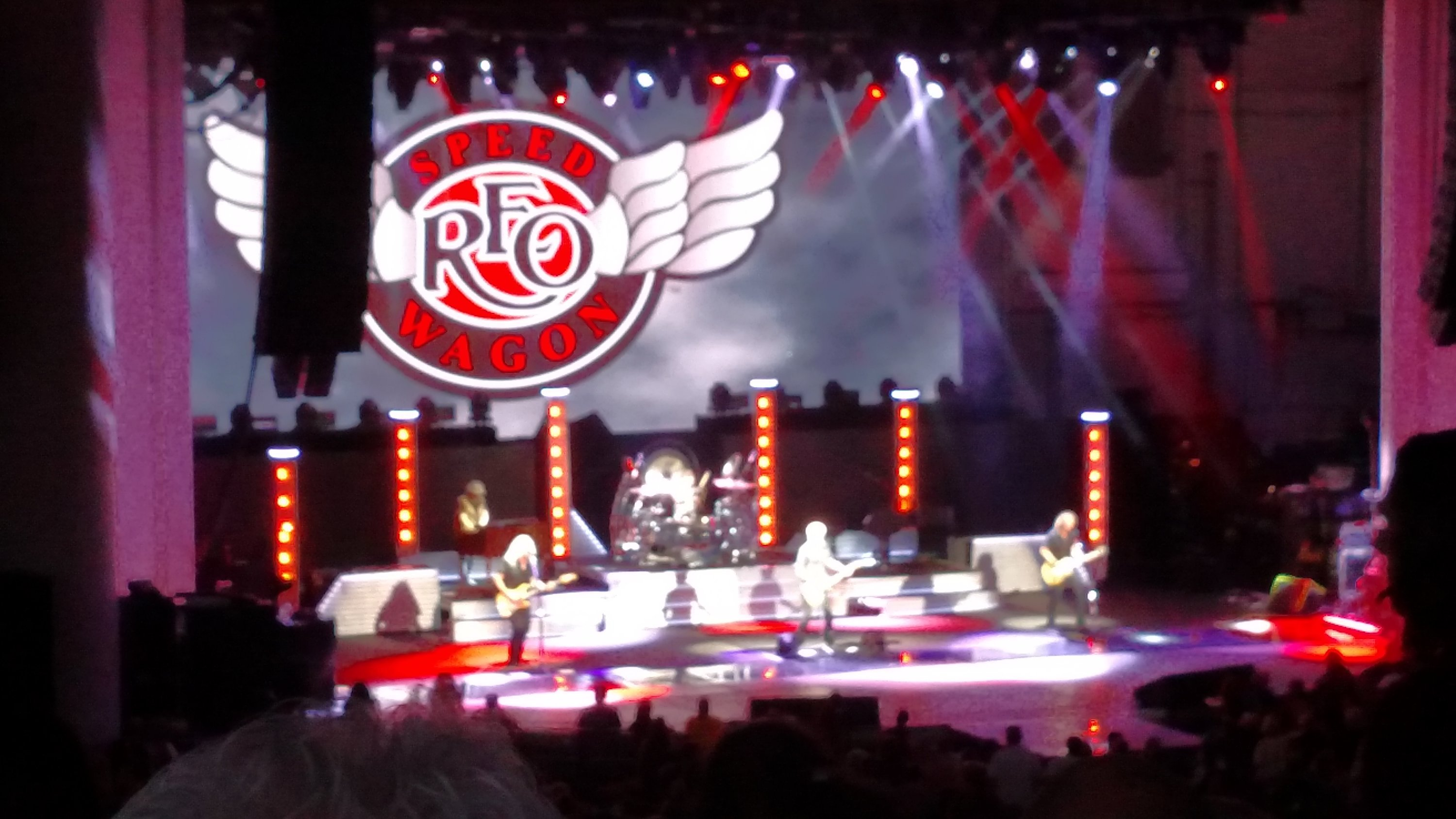 Timothy Attended Def Leppard, Reo Speedwagon, Tesla Live In Concert   Pnc  Bank Arts
