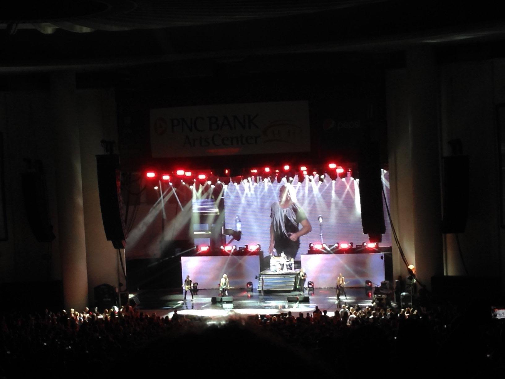 Todd Attended Def Leppard, Reo Speedwagon, Tesla Live In Concert   Pnc Bank  Arts