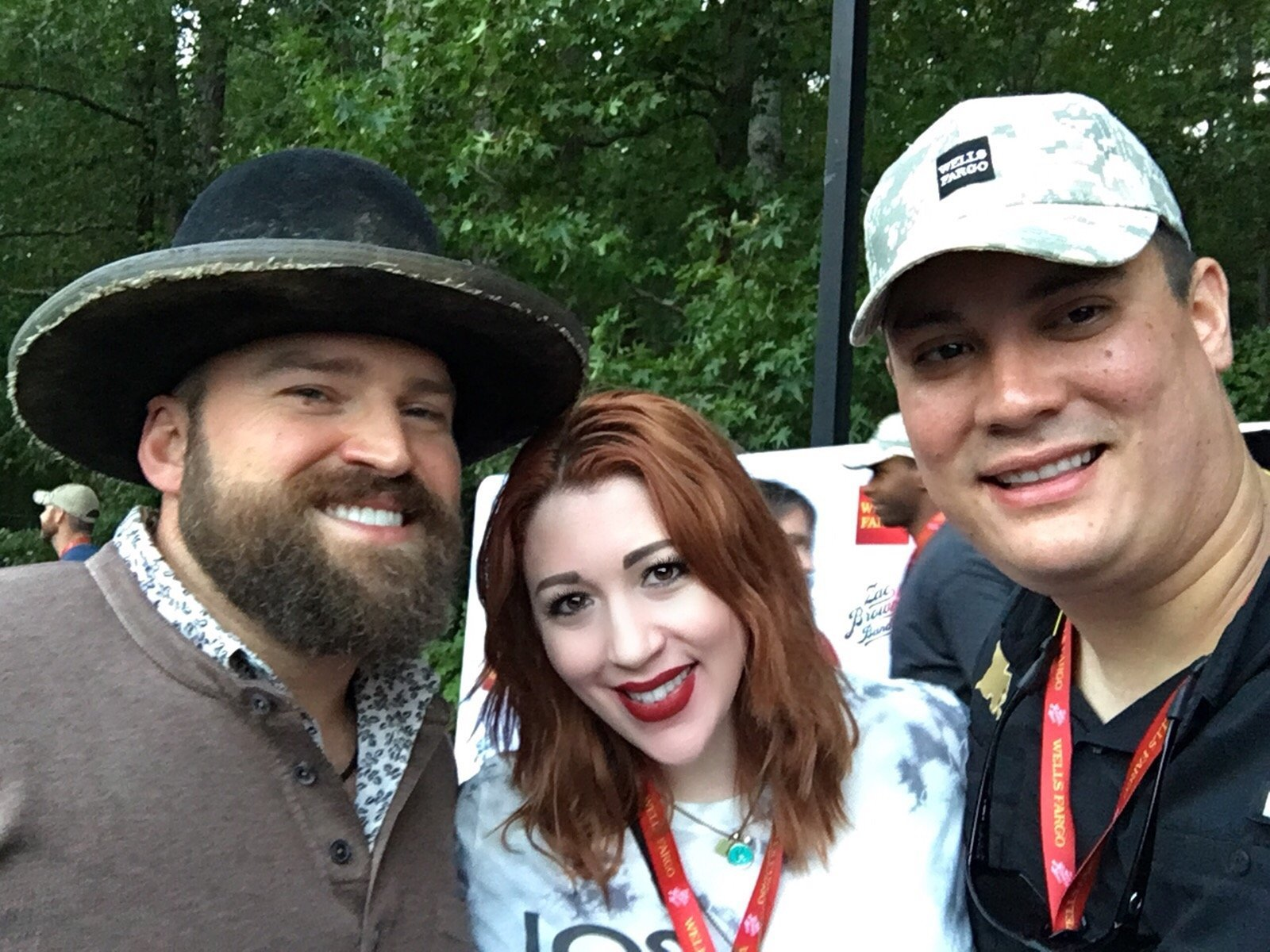 Thank you messages to veteran tickets foundation donors katy attended zac brown band black out the sun tour with meet and greet opportunity m4hsunfo