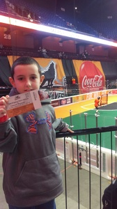 Michael attended New England Black Wolves - Colorado Mammoth - National Lacrosse League on Feb 26th 2017 via VetTix