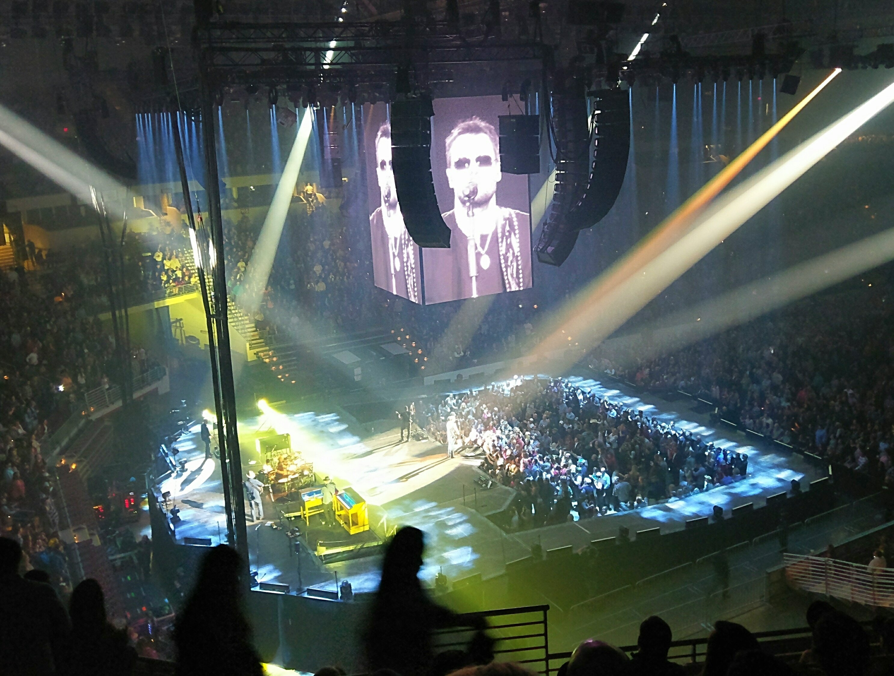 Lucas attended Eric Church - Holdinu0027 My Own Tour - Verizon Arena on Feb 4th & Thank You Messages To Veteran Tickets Foundation Donors