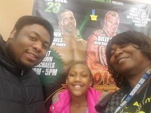 Harri attended World Wrestling Network and Evolve Wrestling Present Evolve 78 on Feb 24th 2017 via VetTix