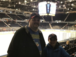 Todd attended Rochester Americans vs. Utica Comets - AHL on Apr 8th 2017 via VetTix