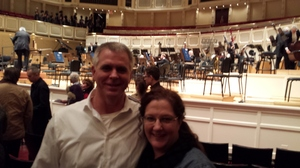 Monica attended Muti Conducts Ivan the Terrible - Presented by the Chicago Symphony Orchestra on Feb 24th 2017 via VetTix