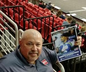 Kevin attended Nebraska Danger vs. Salt Lake Screaming Eagles - IFL - Military Appreciation Night! on Apr 22nd 2017 via VetTix