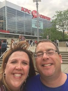 Dana attended Tim McGraw and Faith Hill - Soul2Soul World Tour - KFC Yum! Center on Apr 28th 2017 via VetTix