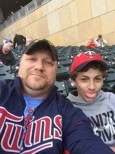 Paul attended Minnesota Twins vs. Cleveland Indians - MLB on Apr 17th 2017 via VetTix