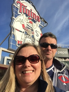 Lance attended Minnesota Twins vs. Cleveland Indians - MLB on Apr 17th 2017 via VetTix