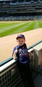 Robert attended Minnesota Twins vs. Detroit Tigers - MLB on Apr 22nd 2017 via VetTix