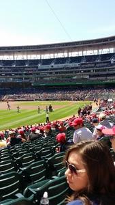 Kirby attended Minnesota Twins vs. Detroit Tigers - MLB on Apr 22nd 2017 via VetTix
