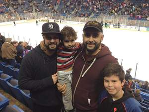 thomas attended Hartford Wolf Pack vs. Wilkes-barre Penguins - AHL on Apr 8th 2017 via VetTix
