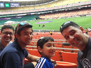 Alex attended DC United vs. Chicago Fire - MLS - Armed Forces Day on May 20th 2017 via VetTix