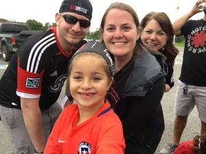 Kristina attended DC United vs. Chicago Fire - MLS - Armed Forces Day on May 20th 2017 via VetTix