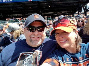 Eric attended Detroit Tigers vs. Boston Red Sox - MLB on Apr 9th 2017 via VetTix