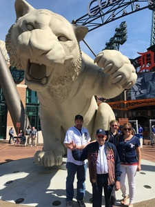 Jerry E attended Detroit Tigers vs. Boston Red Sox - MLB on Apr 9th 2017 via VetTix