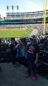 NICHOLAS attended Detroit Tigers vs. Boston Red Sox - MLB on Apr 9th 2017 via VetTix