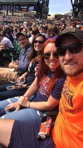 Sean attended Detroit Tigers vs. Boston Red Sox - MLB on Apr 9th 2017 via VetTix