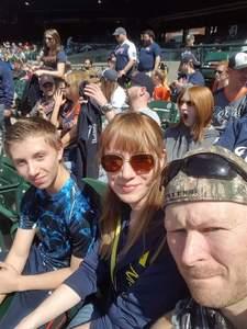 LORI attended Detroit Tigers vs. Boston Red Sox - MLB on Apr 9th 2017 via VetTix