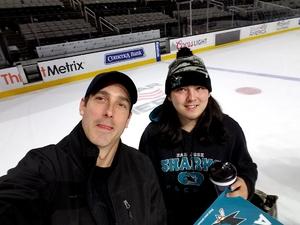 Jeffery attended San Jose Sharks vs. Edmonton Oilers - NHL - Post Game on Ice Photo on Apr 6th 2017 via VetTix