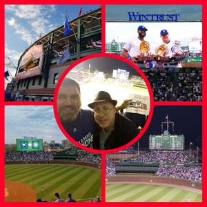 Adam attended Chicago Cubs vs. Milwaukee Brewers - MLB on Apr 18th 2017 via VetTix