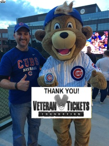 Stephen attended Chicago Cubs vs. Milwaukee Brewers - MLB on Apr 18th 2017 via VetTix