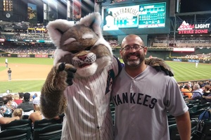 Carlos attended Arizona Diamondbacks vs. San Francisco Giants - MLB on Apr 6th 2017 via VetTix