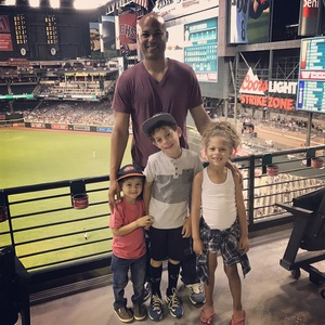 Tam attended Arizona Diamondbacks vs. San Francisco Giants - MLB on Apr 6th 2017 via VetTix