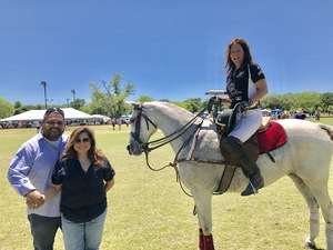 Victor attended 3rd Annual Fiesta Cup - Polo Match - Official Fiesta Event - Presented by the San Antonio Polo Club on Apr 23rd 2017 via VetTix