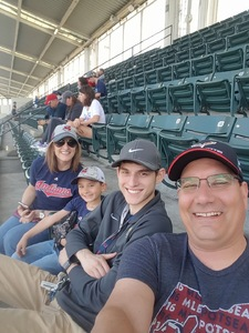 Ralph attended Cleveland Indians vs. Seattle Mariners - MLB on Apr 30th 2017 via VetTix