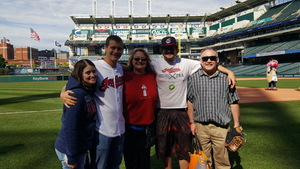 Z attended Cleveland Indians vs. Minnesota Twins - MLB on May 14th 2017 via VetTix