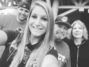 Molly attended Cleveland Indians vs. Minnesota Twins - MLB on May 14th 2017 via VetTix